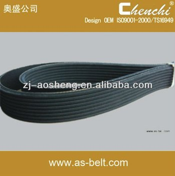 Auto Ribbed Belt OEM (6PK2140) in quantity,low price poly-bib belt/rubber ribbed belt