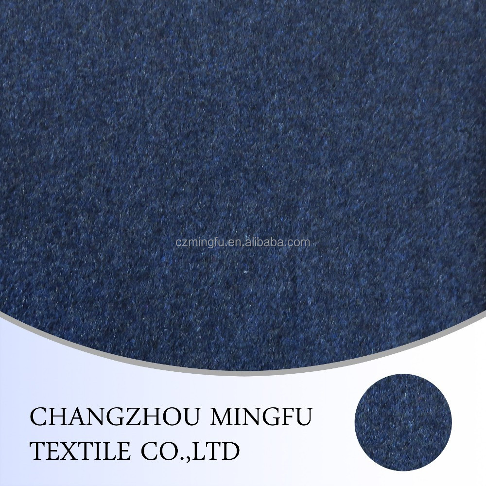 low price 100% wool woolen melange fabric for fashion suit