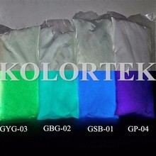 Glow In The Dark Powder Pigment, Strontium Aluminate For Sticks/Stars/Paint