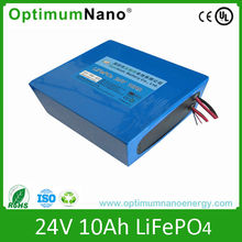 24V 10Ah lifepo4 battry for Electric toy car