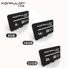 Konfulon High Quality Sport / Action Camera/Mobile phone SD Memory Card 8GB 16GB 32GB class 10 TF Card