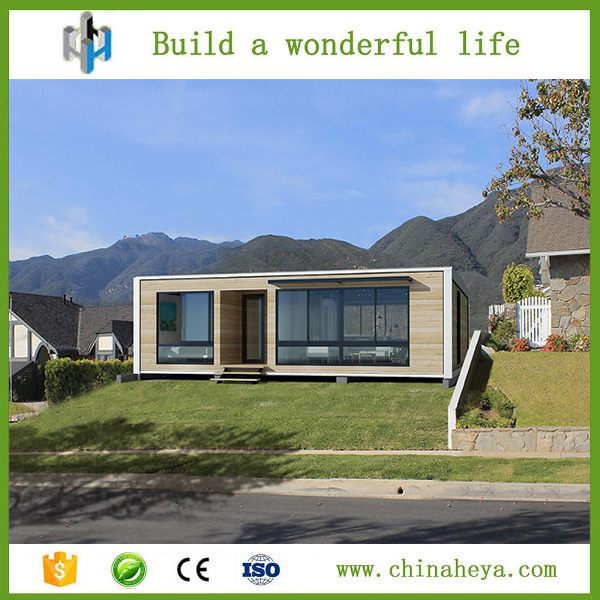 HEYA 50m2 fashion container house design / plan