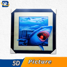 Wholesale 3d lenticular picture decoration of New 5D animal picture