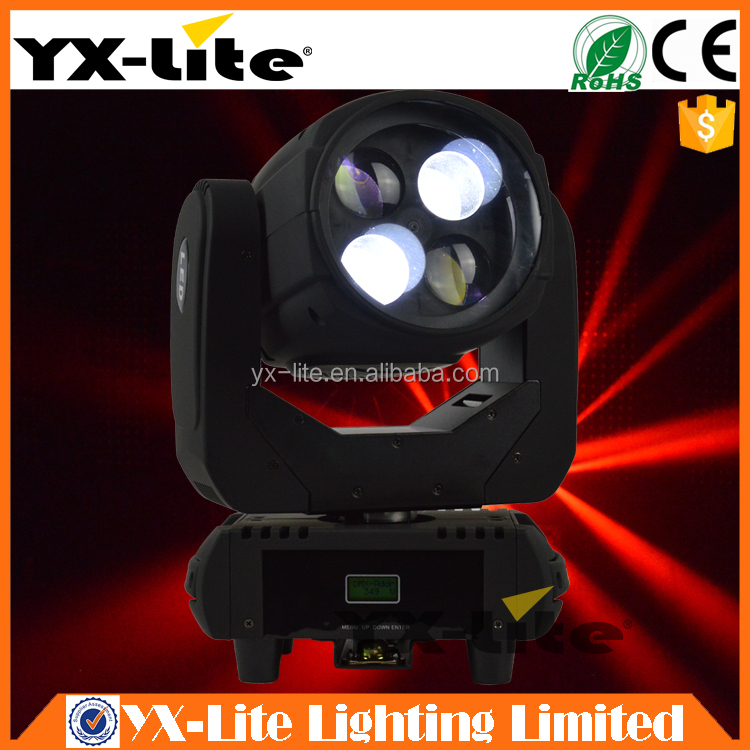 4x25W LED Super Beam Moving Head Stage Light