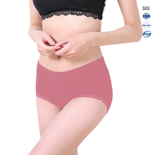 High quality fashion women's seemless lace sexy underwear panty for young girl