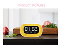 Digital Kitchen Timer Magnetic Countdown Up Cooking Timer with Magnet Back, Stand,Loud Alarm, Large Display Minute Second