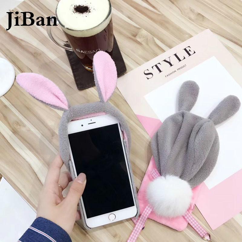 coque pour iphone x luxury warm rabbit