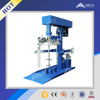 Vacuum water based paint disperser (hydraulic lifting)
