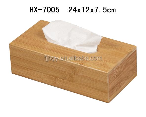 Cheap Bamboo Tissue Box Wholesale