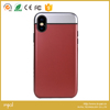 3 in 1 Soft inner with hard cover protective phone case for iphone X 100Series