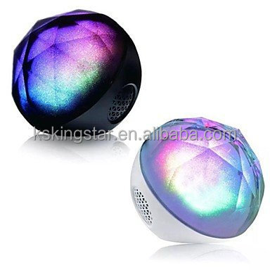 Colorful Wireless led ball disco bluetooth speaker