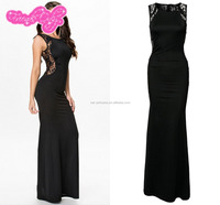 Ladies long women party wear formal evening gown
