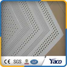 Customized Anping square hole stainless steel perforated sheet