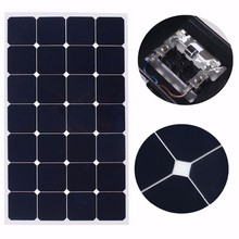 high efficiency flexible 18v mono 80W 90W 100w 110W low price mini pv solar panel