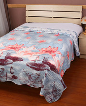 4PCS Microfiber Patchwork/Patch Work Bed Sheet with Flower/Animal Pattern