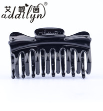 Women Girl Fashion Barrette Accessories Plastic Jumbo Claw Hair Clips