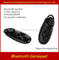 fashion game accessories on android/ios bluetooth Gamepad/ controller/ joystick for google cardboard 3D glasses