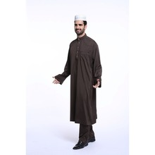 open button business long sleeves mens african kaftan
