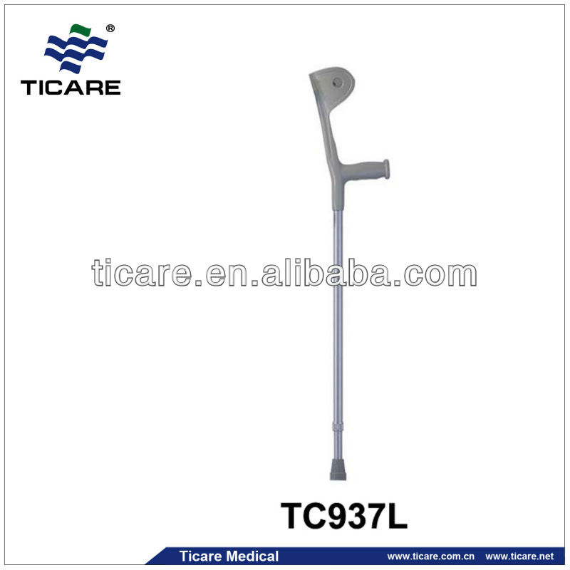 Medical Instruments Adjustable Aluminium Alloy Walking Crutch