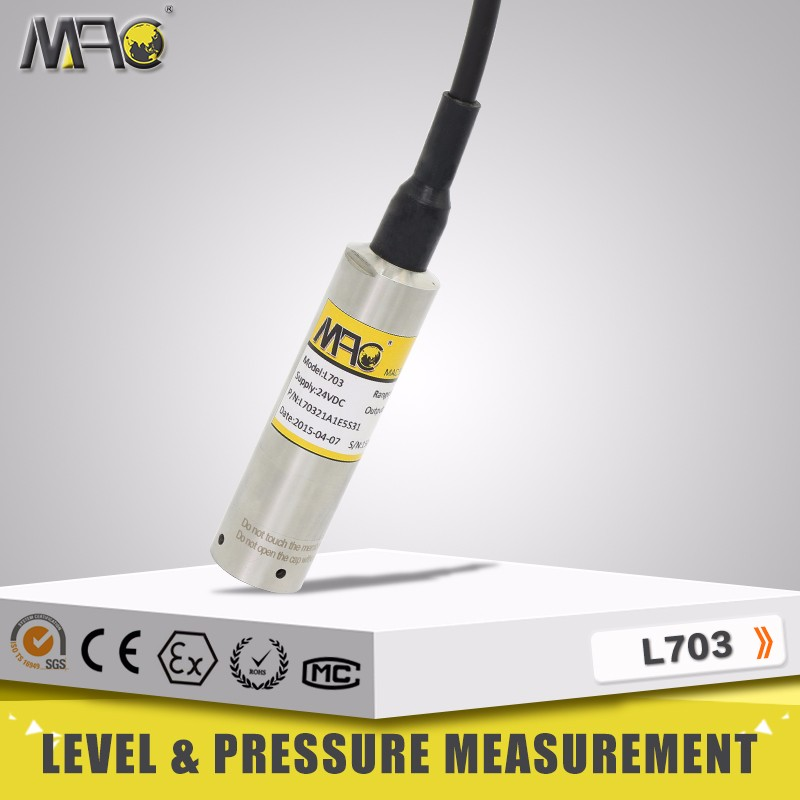 Level transmitter/portable diese fule level sensor