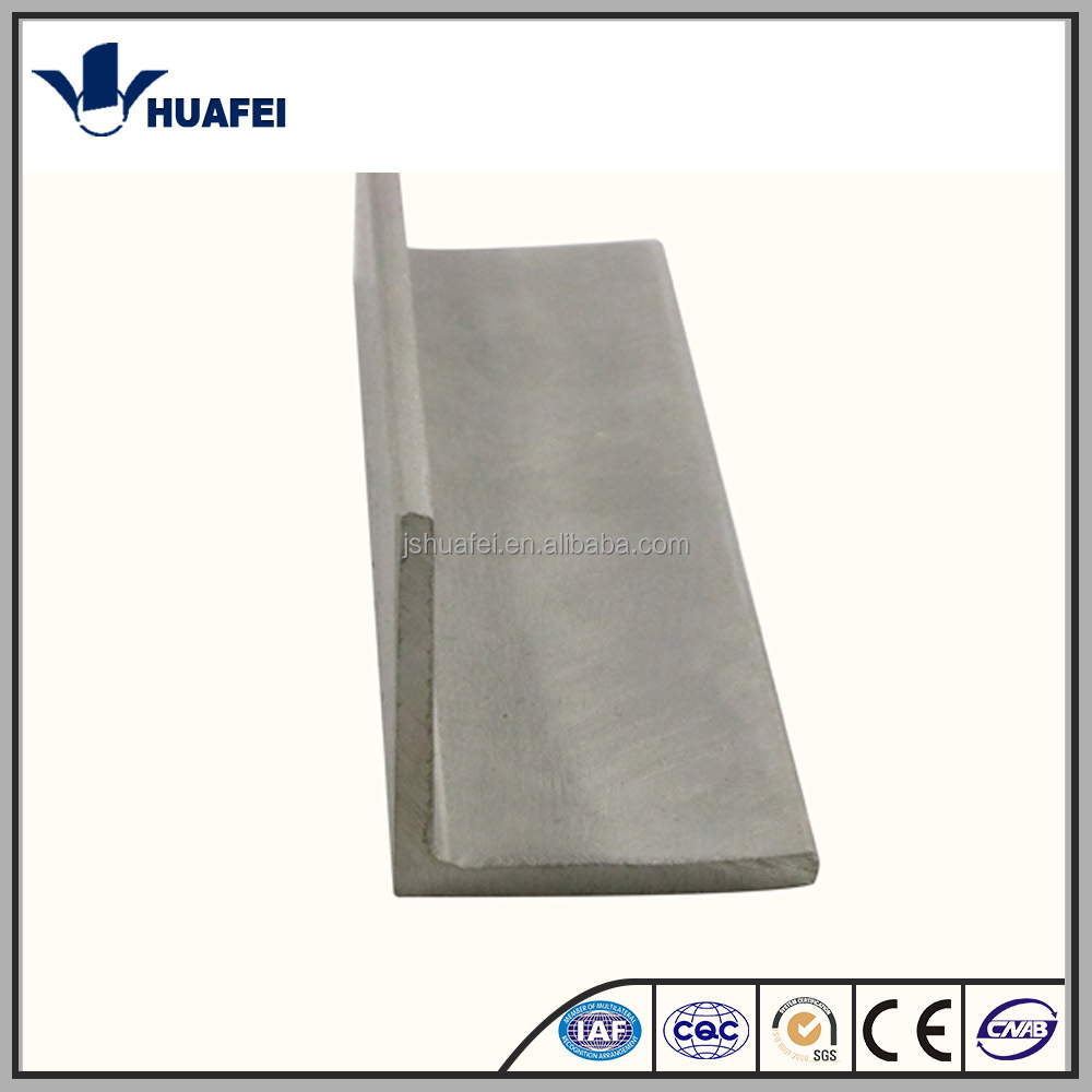 Customized stainless steel angle bar rod 316