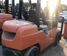 Used condition toyota 8FD30 forklift second hand toyota 3t lifter for sale