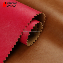 High quality synthetic leather fabric stocklot for shoes