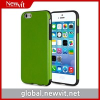 Newvit Back cover 4 case for iPhone6 / mobile phone case / Combination of TPU and PU for flexibility