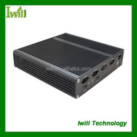 Design aluminum mini-itx chassis X7 computer tower case with handle