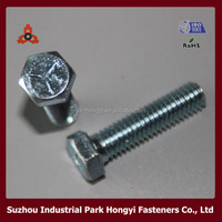 ANSI/ASME B18.2.1 Hex HD Types Of Door Bolts By Galvanized In China