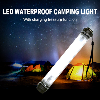 PanaTorch Rechargeable bright white LED camping light for outdoor living