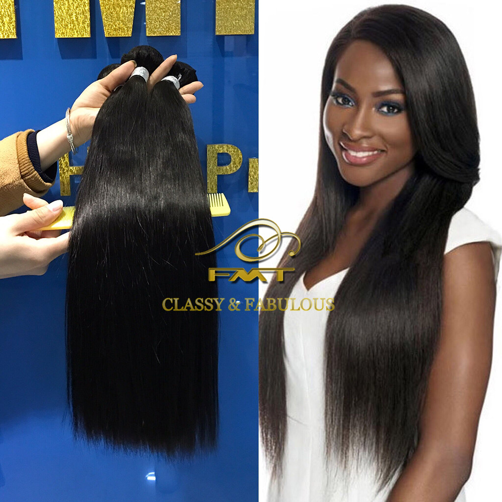 2017 New Arrival Unprocessed Full Cuticle 8A Best Virgin Brazilian Straight Hair