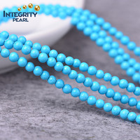 2mm 3mm small round jewelrr beads blue turquoise, genuine turquoise, natural turquoise