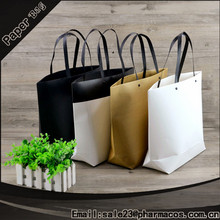 Wholes Recycle eco friendly brown paper bag shopping kraft paper bag 2016