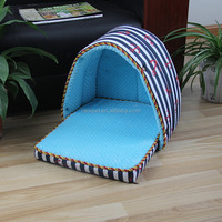 Factory direct new fashion strip dog cat bed house sleeping house