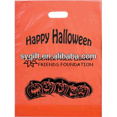 customized non woven light up halloween bag