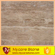 Coffee Travertine Vein cut travertine floor tile
