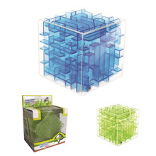 Educational toy 3d maze cube puzzle game