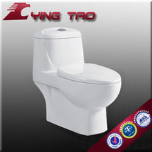 hot selling Daul flushing square shape bathroom funiture ceramic siphonic One-piece closestool