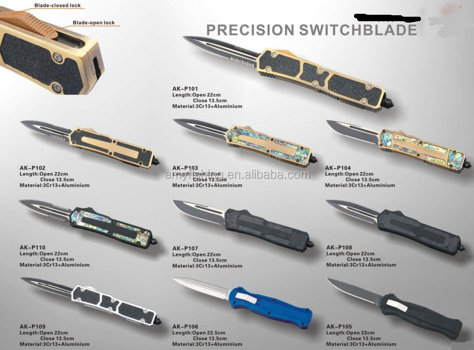 High quality and cheap price precision switchblade