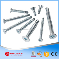 Pozi Drive Drilling Screw Countersunk Head Dimater 6# Zinc Coating