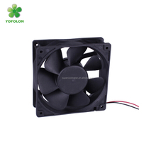 120x120x38mm 120mm dc brushless fan, 2800rpm 12V 24V high flow dc axial cooling fan