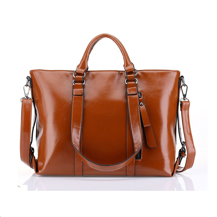 HD-0681 China Wholesale Hot Selling Ladies' PU Leather Handbag at Low Price