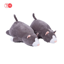 High quality custom baby pillow soft plush toy for kids design your own stuffed doll toy