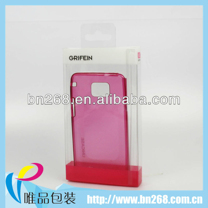 Mobile phone case blister pack manufacturing box