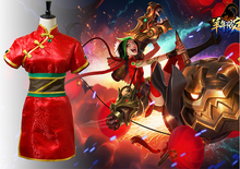 Women's League of Legends the Loose Cannon Firecracker Jinx Cosplay Costume