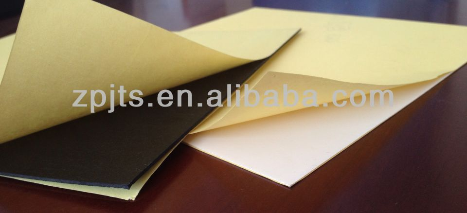self -adhesive Album pvc rigid sheet