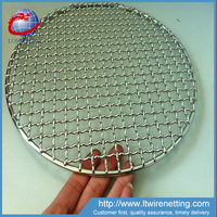 304 Stainless steel barbecue grill net / bbq wire mesh