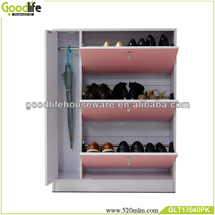 Colorful models shoe racks wood from Goodlife factory
