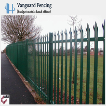 Hot Selling Long Life Security Steel Palisade Fence